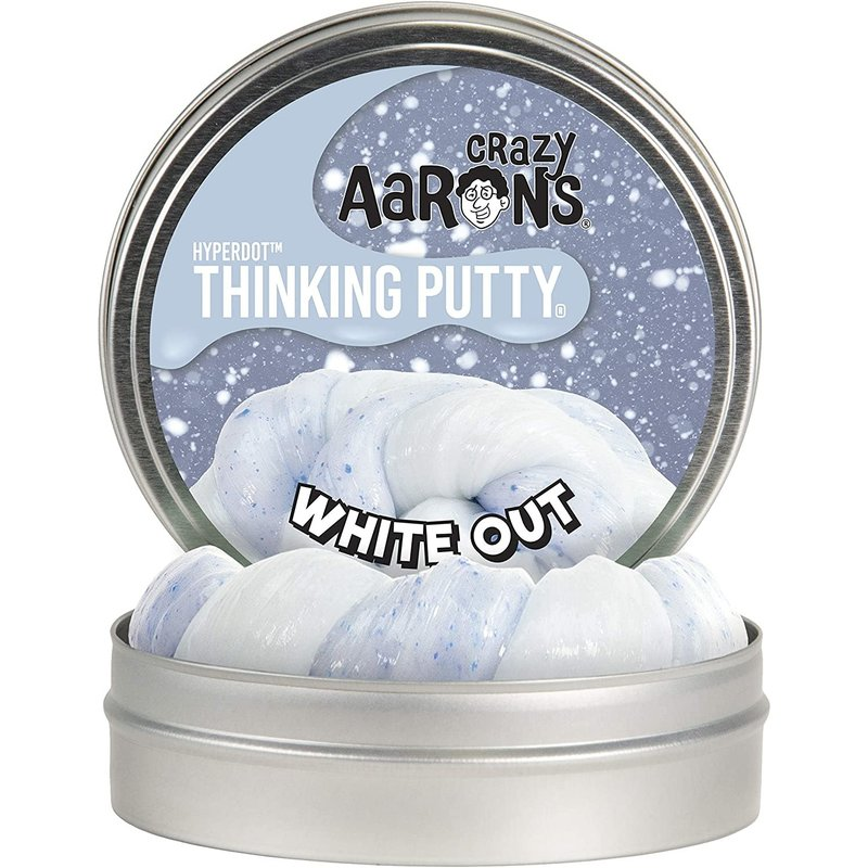 Crazy Aaron Crazy Aaron's Thinking Putty White Out Hypercolour