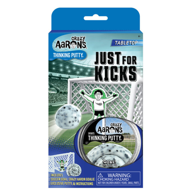 Crazy Aaron Crazy Aaron's Thinking Putty Sports Just for Kicks