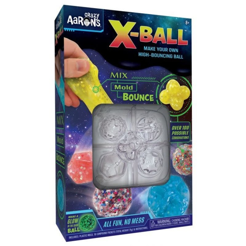 Crazy Aaron Crazy Aaron's Thinking Putty X-Ball Kit