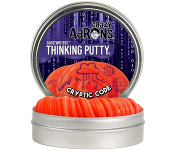 Crazy Aaron's Thinking Putty Ghostwriters Cryptic Code