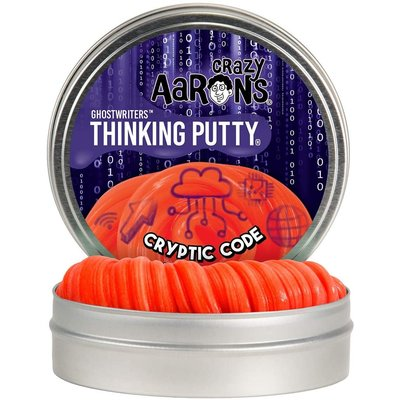Crazy Aaron Crazy Aaron's Thinking Putty Ghostwriters Cryptic Code