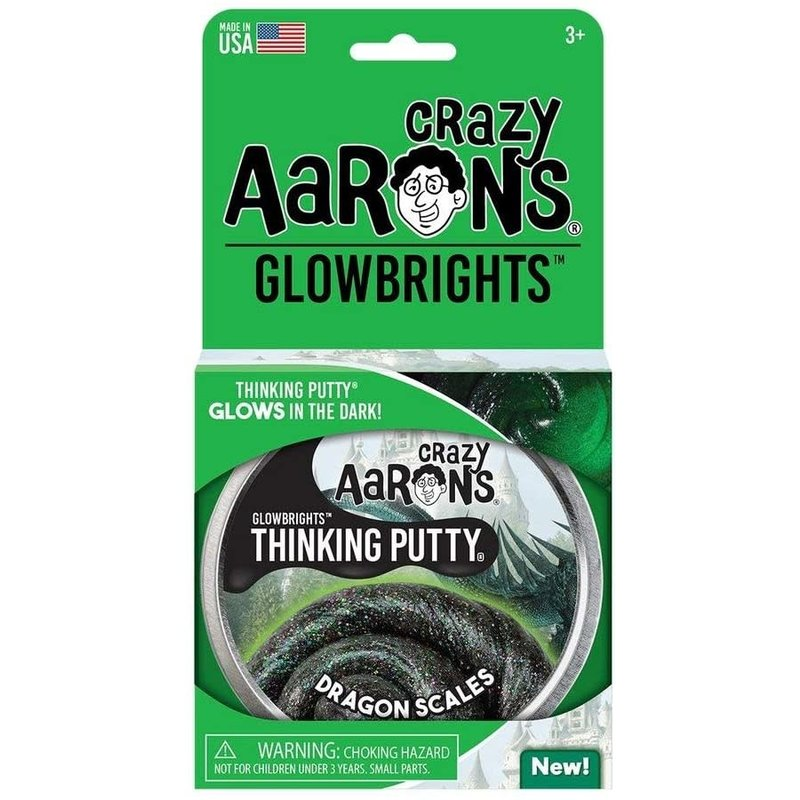 Crazy Aaron Crazy Aaron's Thinking Putty Glowbrights Dragon Scales