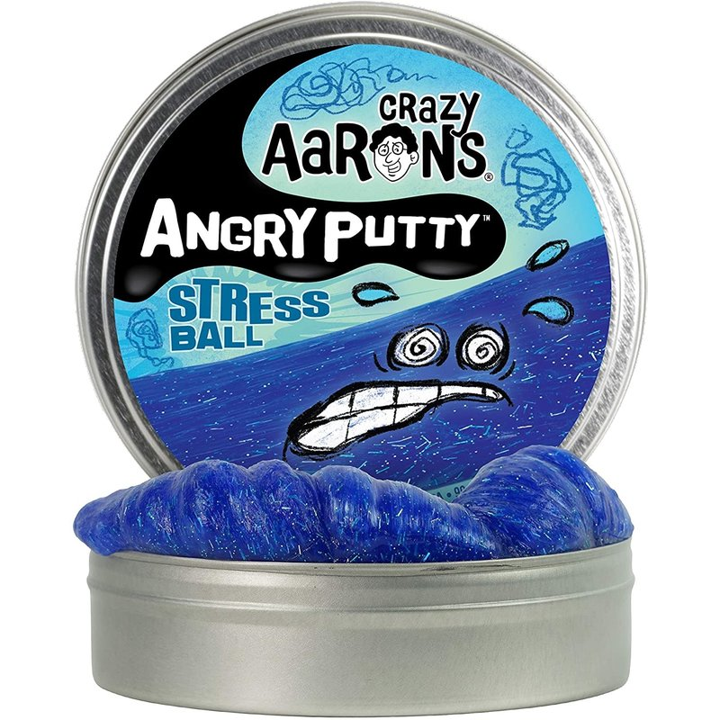 Crazy Aaron Crazy Aaron's Angry Putty Stress Ball
