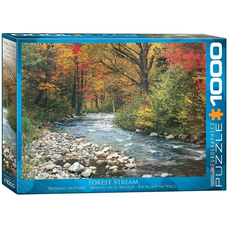 Eurographics Eurographic Puzzle 1000pc Forest Stream
