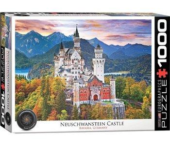 Eurographic Puzzle 1000pc Neuschwanstein Castle