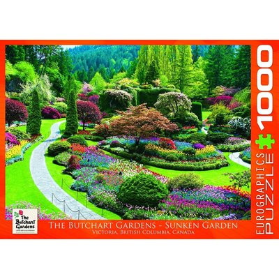 Eurographics Eurographic Puzzle 1000pc The Butchart Gardens