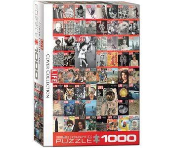 Eurographic Puzzle 1000pc Life Cover Collection