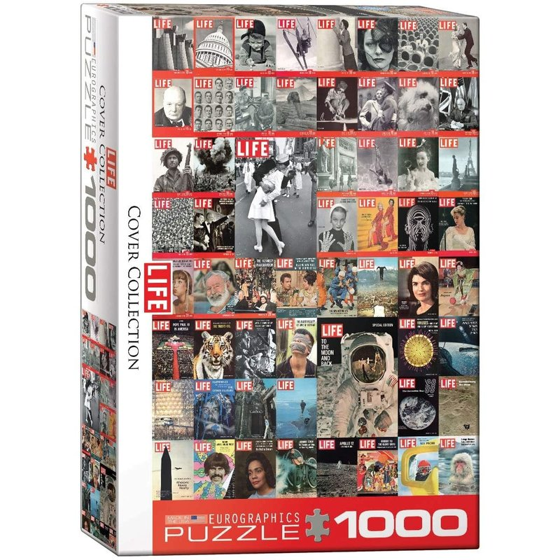 Eurographics Eurographic Puzzle 1000pc Life Cover Collection