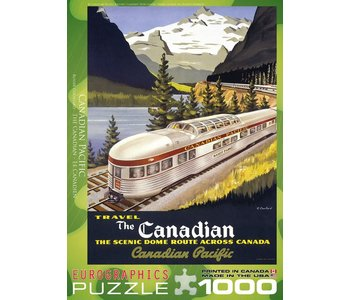 Eurographic Puzzle 1000pc The Canadian Pacific