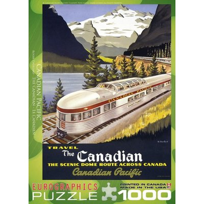Eurographics Eurographic Puzzle 1000pc The Canadian Pacific