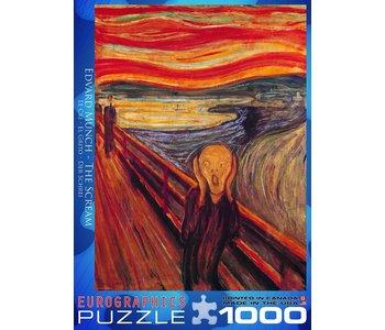 Eurographic Puzzle 1000pc The Scream