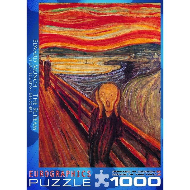 Eurographics Eurographic Puzzle 1000pc The Scream