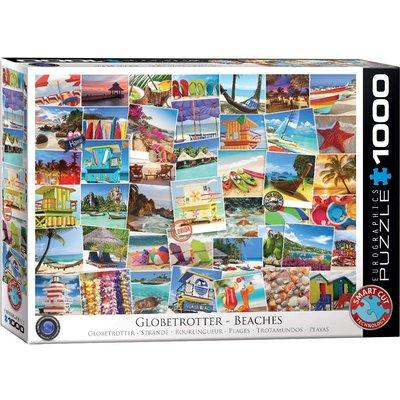 Eurographics Eurographic Puzzle 1000pc Globetrotter Beaches