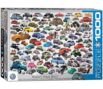 Eurographic Puzzle 1000pc What's Your Bug