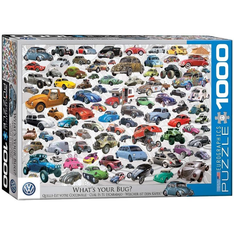 Eurographics Eurographic Puzzle 1000pc What's Your Bug