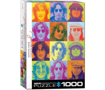 Eurographic Puzzle 1000pc John Lennon Color