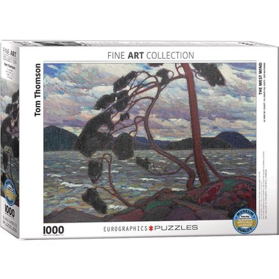 Eurographics Eurographic Puzzle 1000pc The West Wind