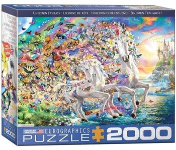 Eurographic Puzzle 2000pc Unicorn Fantasy