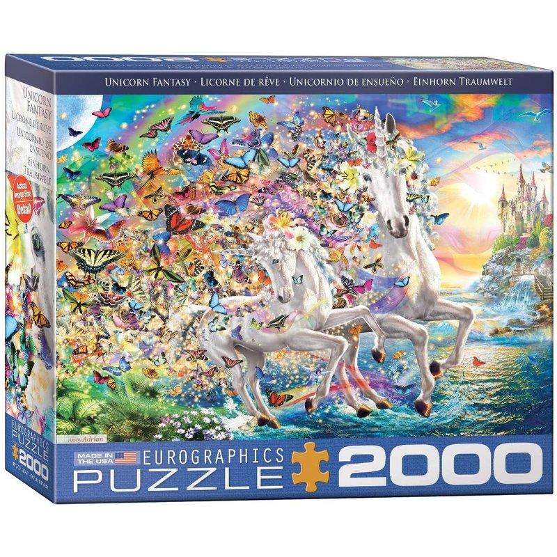 Eurographics Eurographic Puzzle 2000pc Unicorn Fantasy