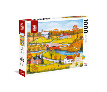 Trefl Puzzle 1000pc The Yellow Bus