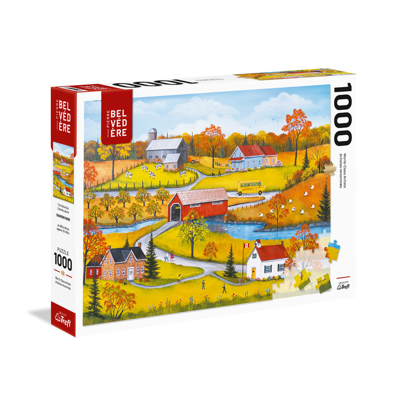 Trefl Trefl Puzzle 1000pc The Yellow Bus