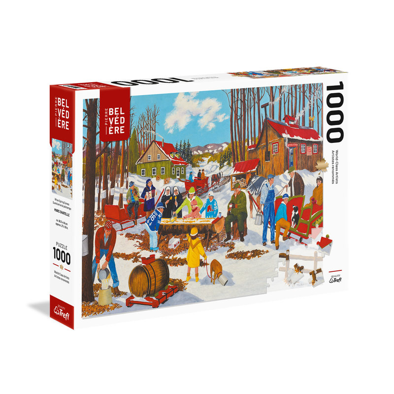 Trefl Trefl Puzzle 1000pc When Spring Arrives