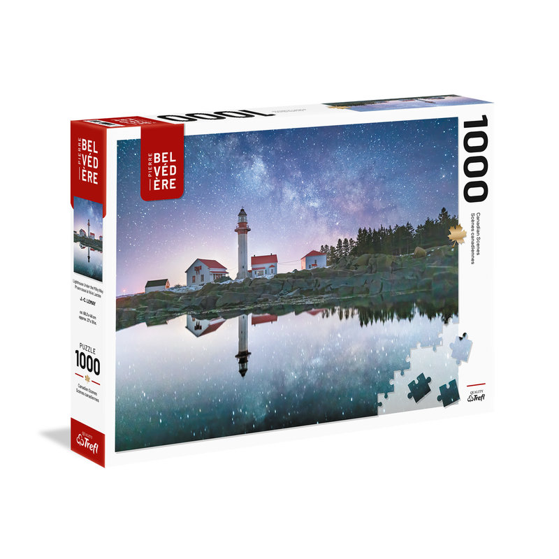 Trefl Trefl Puzzle 1000pc Lighthouse Under the Milky Way