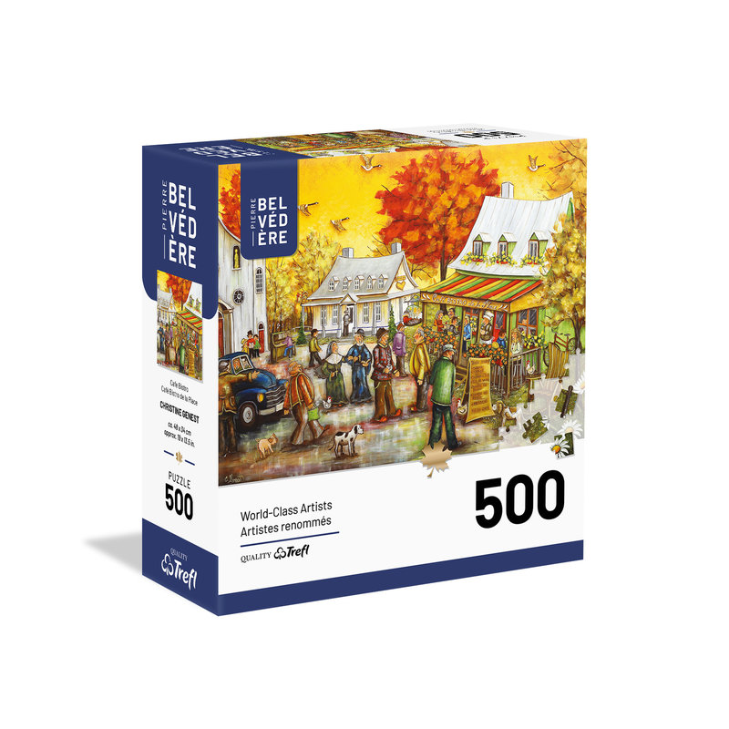 Trefl Trefl Puzzle 500pc Cafe Bistro