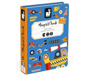Janod Magnetic Book Vehicles