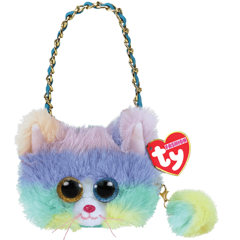 Ty Ty Mini Purses Heather Cat