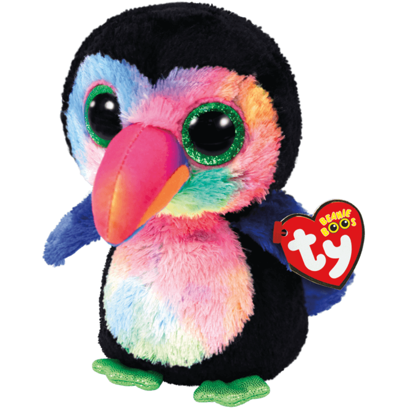 Ty Ty Beanie Boo Medium Beaks Toucan