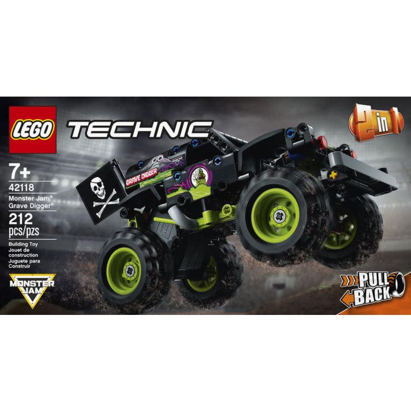 Lego Lego Technic Monster Jam Grave Digger