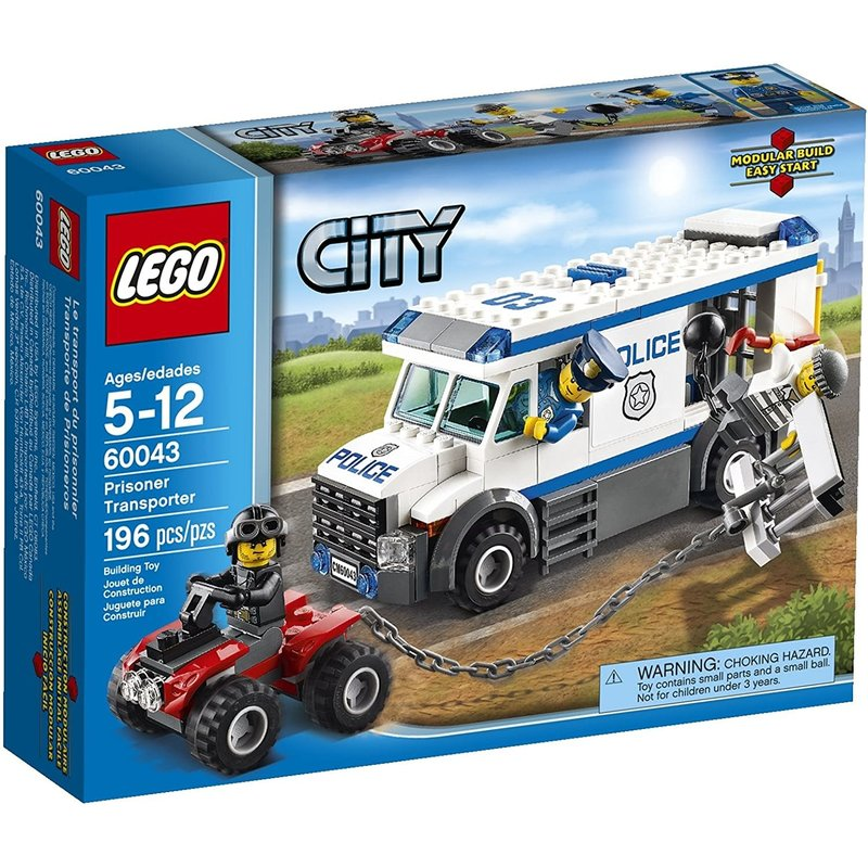 Lego Lego City Police Prisoner Transport