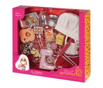 Our Generation Accessory: Master Baker Set