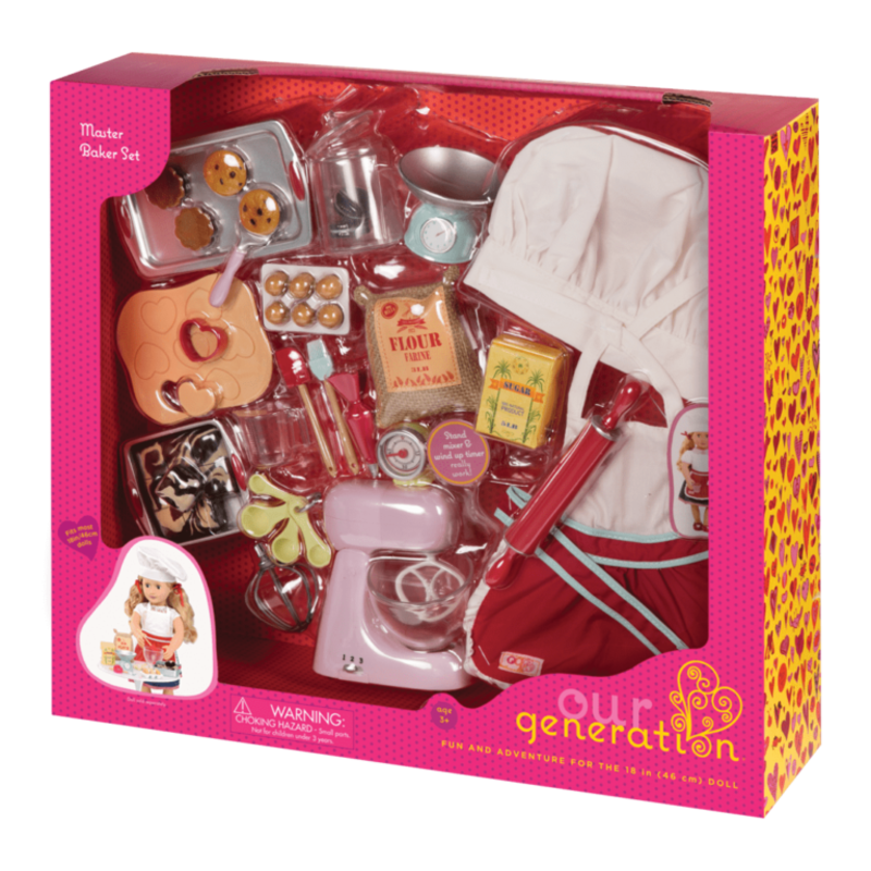 Our Generation Our Generation Accessory: Master Baker Set