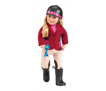 """Our Generation Doll 18"""" Deluxe Lily Anna"""