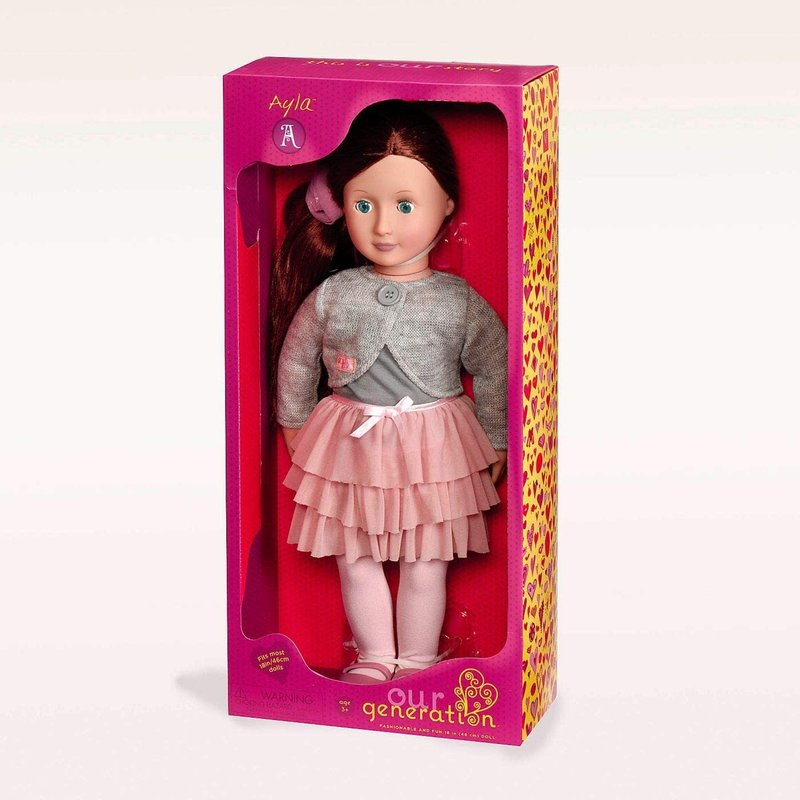 """Our Generation Our Generation 18"""" Doll: Ayla"""