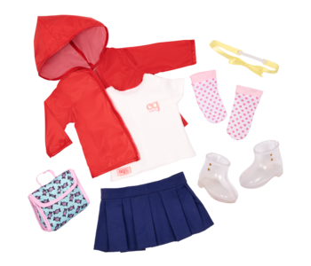 Our Generation Doll Outfit Rainy Recess