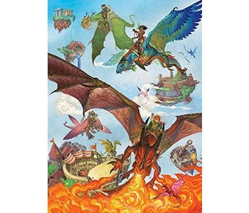 Cobble Hill Family Puzzle 350pc Dragon Flight