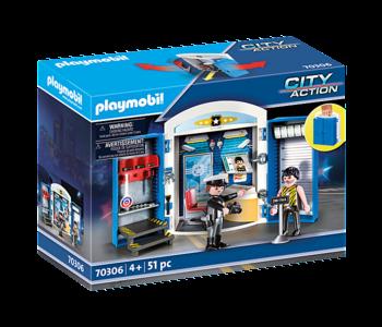 Playmobil Play Box Police Station