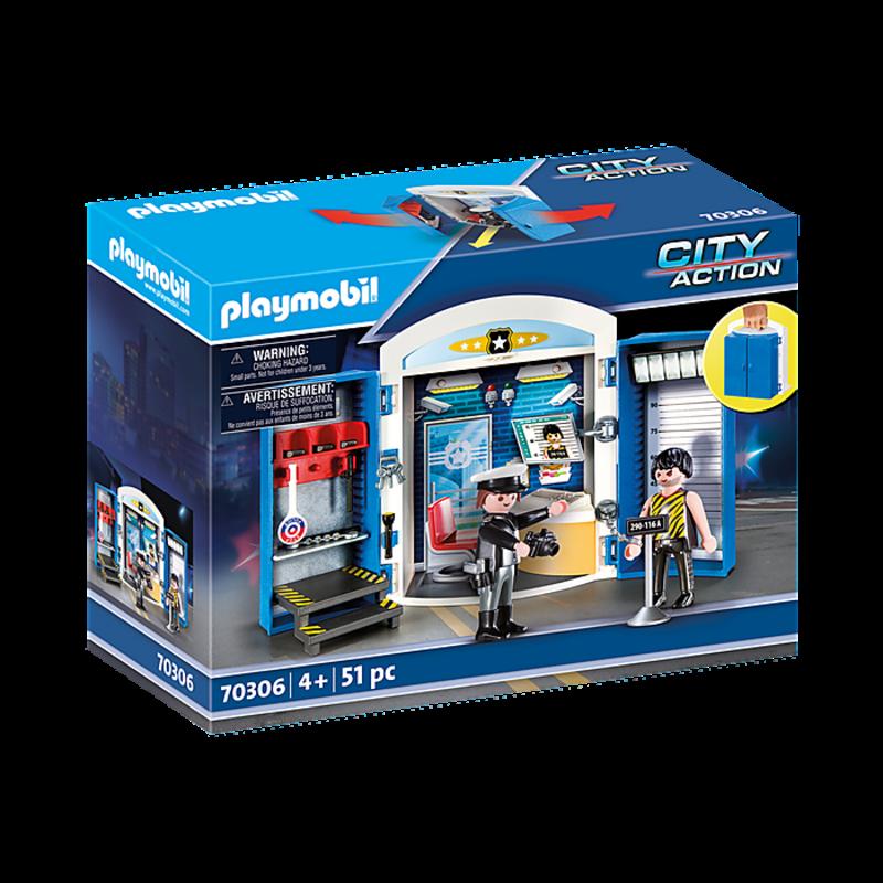 Playmobil Playmobil Play Box Police Station