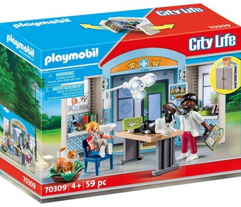 Playmobil Play Box Vet Clinic
