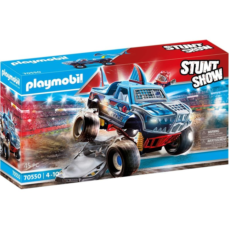 Playmobil Playmobil Stunt Show Shark Monster Truck