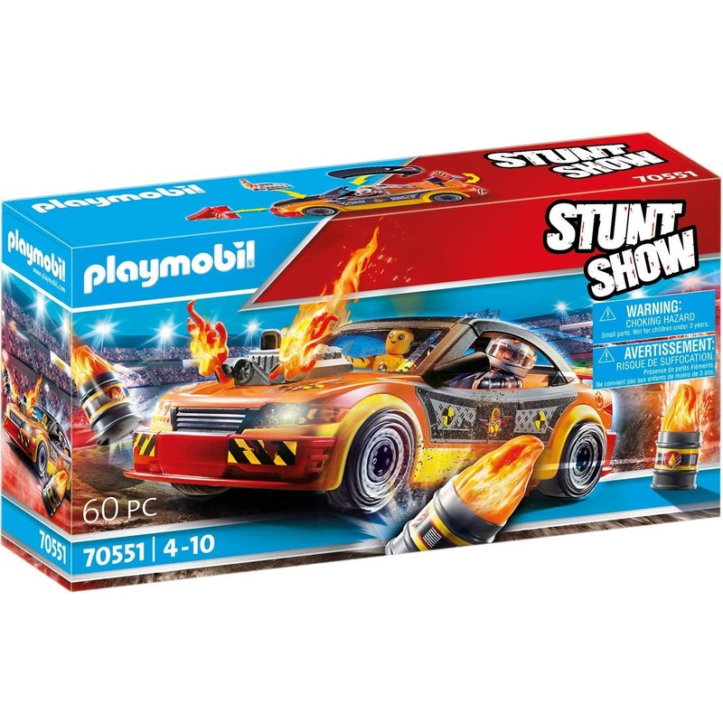 Playmobil Playmobil Stunt Show Crash Car