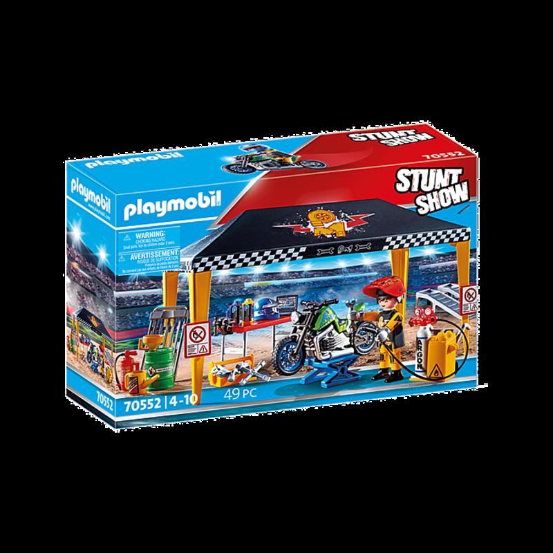 Playmobil Playmobil Stunt Show Service Tent