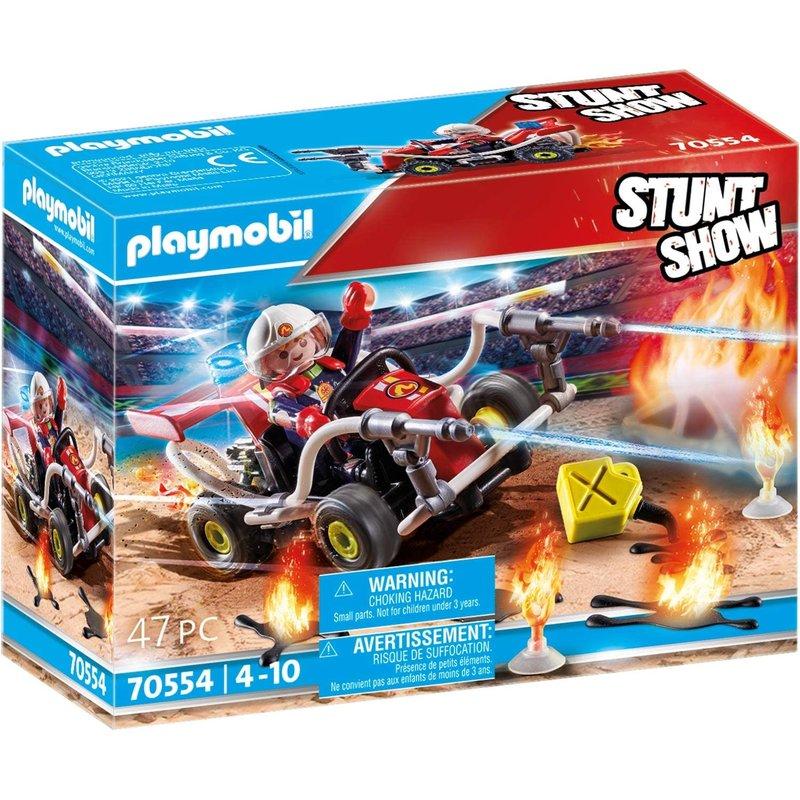 Playmobil Playmobil Stunt Show Fire Quad