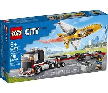 Lego City Airshow Jet Transporter