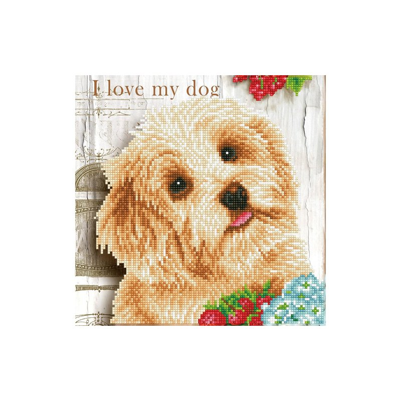 Diamond Dotz Diamond Dotz  I Love My Dog