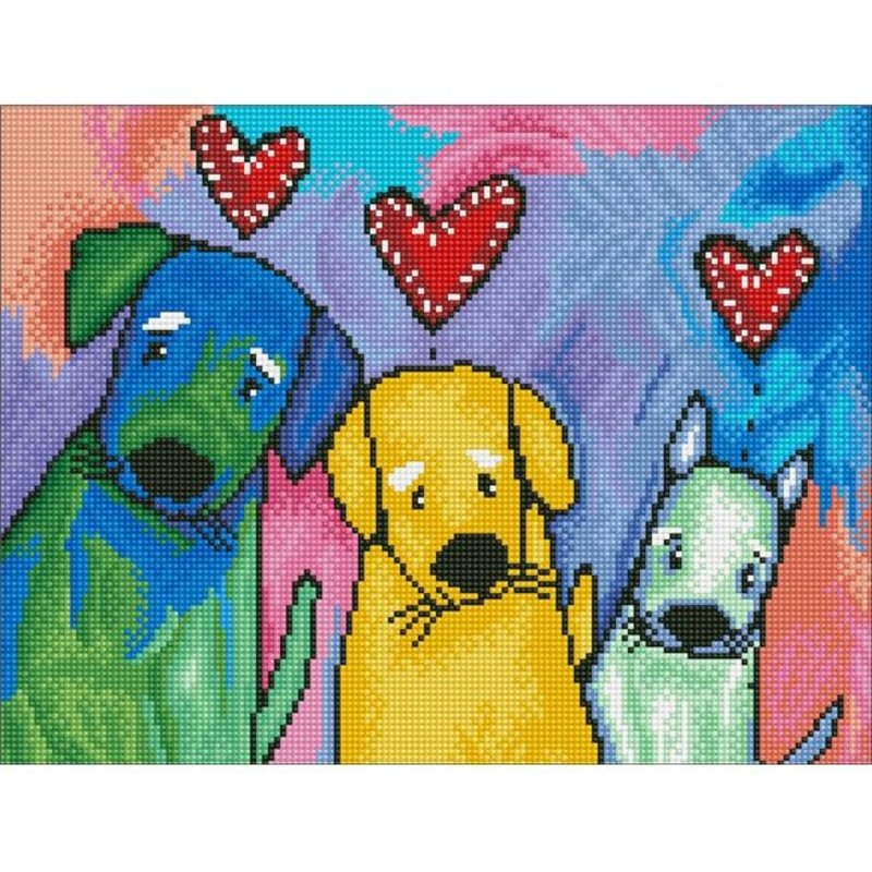 Diamond Dotz Diamond Dotz Three Amigos