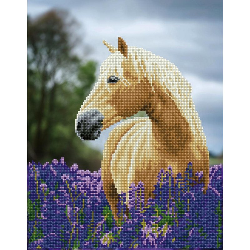 Diamond Dotz Diamond Dotz Horse in a Field